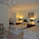 Lord Northesk Room - Twin Bedroom with shared bathroom.